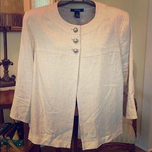 Style&Co Women Plus 16w linen jacket